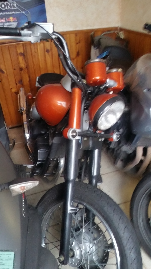 Bobber 125 daelim injection