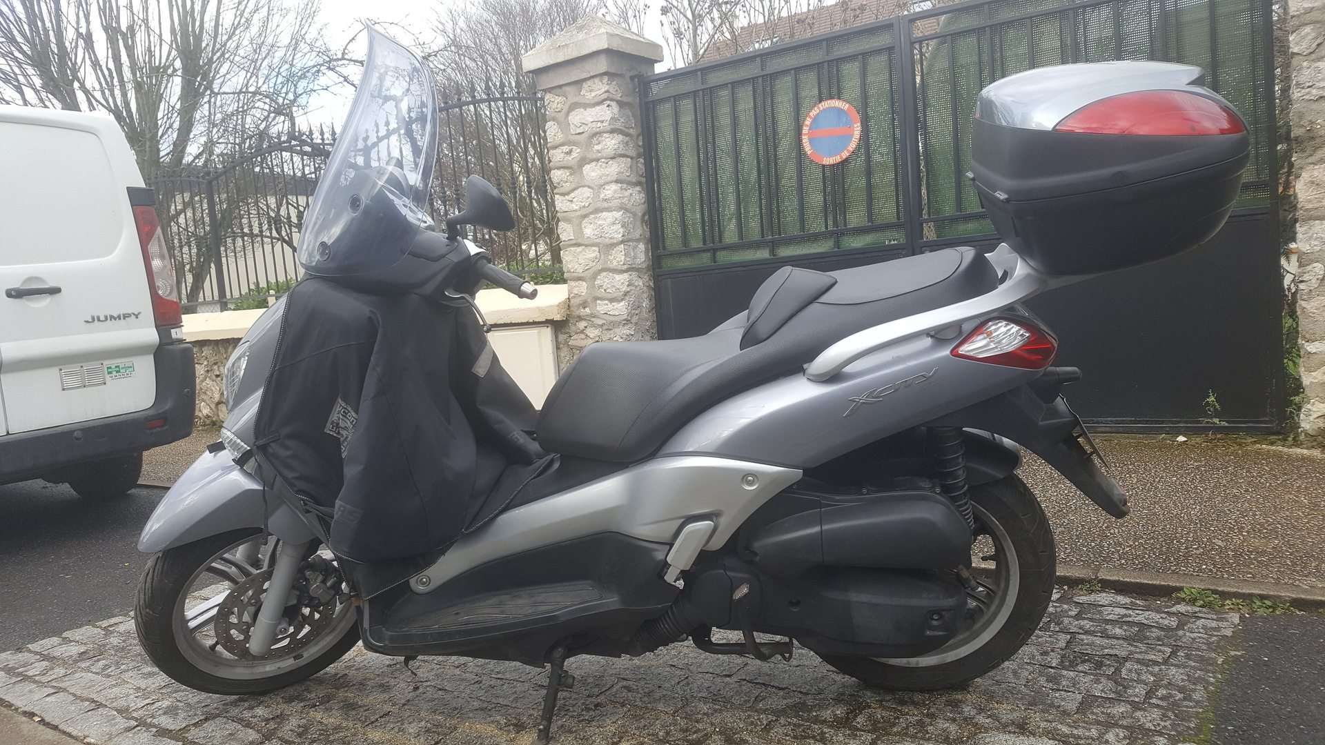 scooter yamaha x city 125 moteur x-max